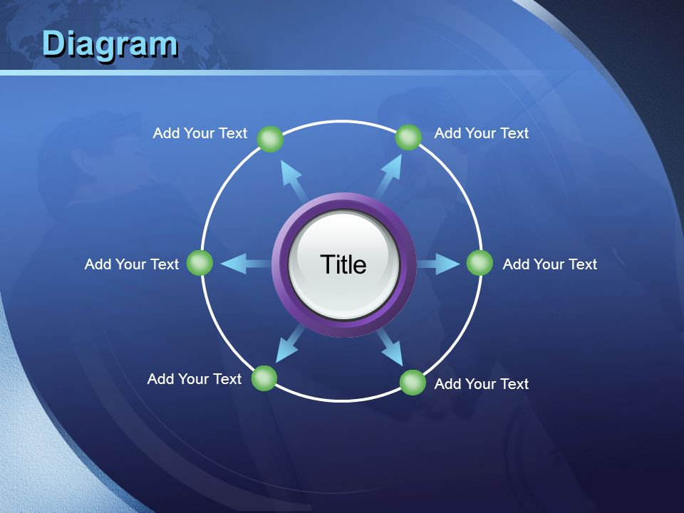 Diagram Title Add Your Text Add Your Text Add Your Text Add Your Text