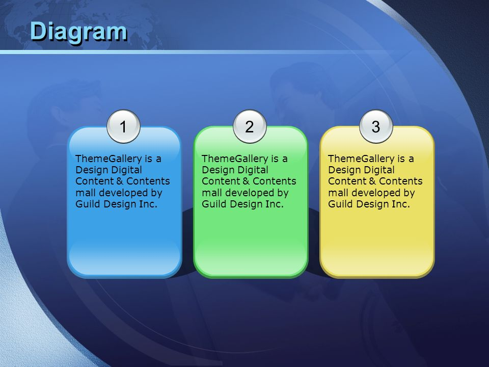 Diagram1. 2. 3. ThemeGallery is a Design Digital Content & Contents mall developed by Guild Design Inc.