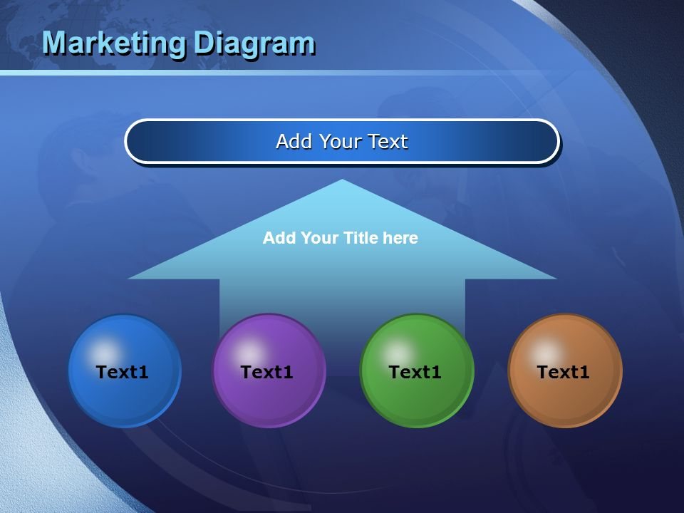 Marketing Diagram Add Your Text Add Your Title here Text1 Text1 Text1