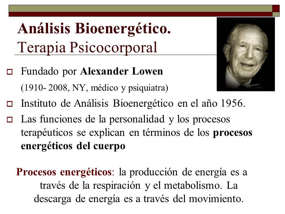 Análisis Bioenergético. Terapia Psicocorporal