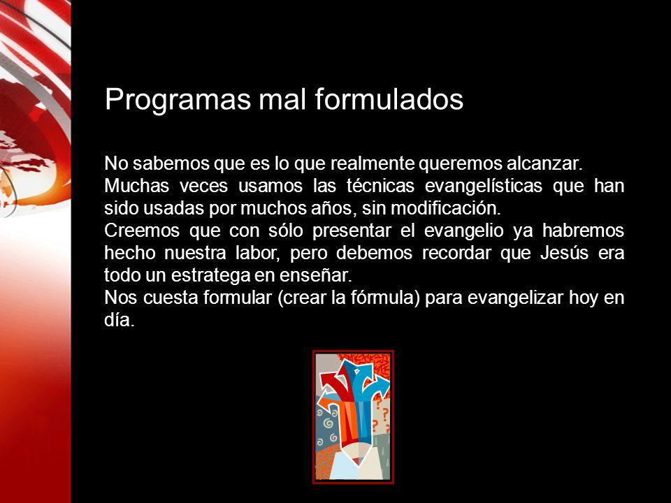 Programas mal formulados