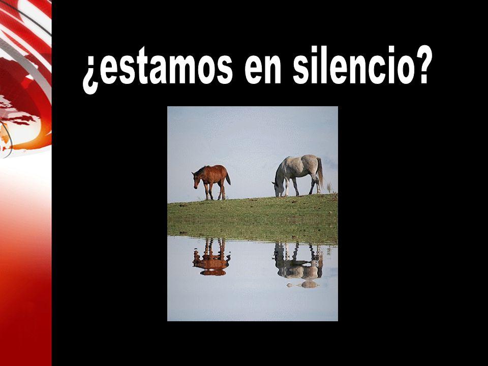 ¿estamos en silencio