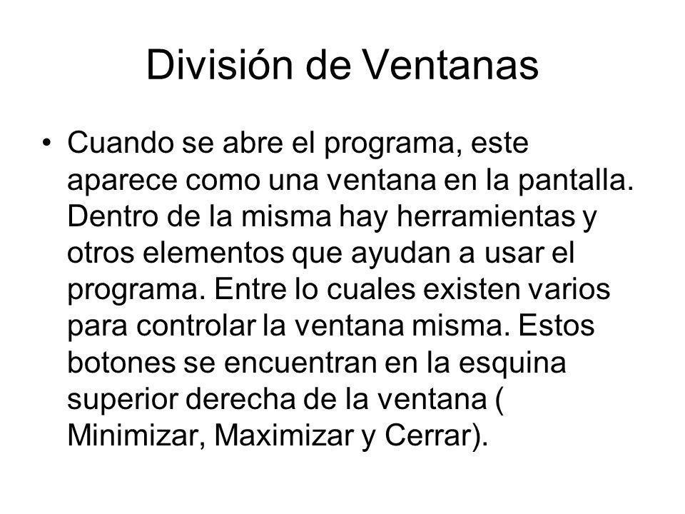 División de Ventanas
