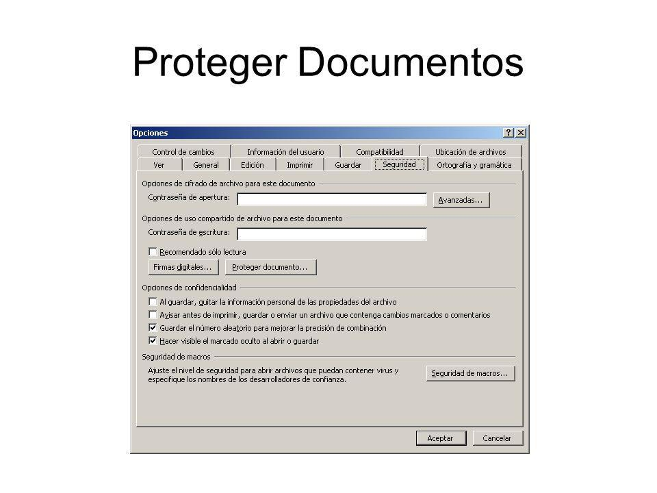 Proteger Documentos