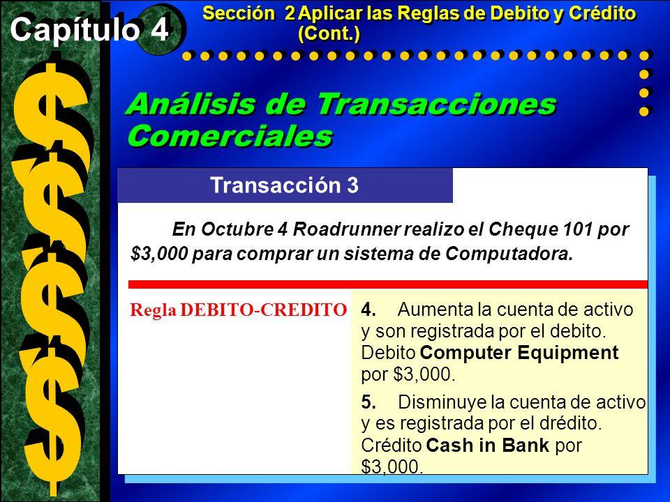 $ $ $ $ Análisis de Transacciones Comerciales