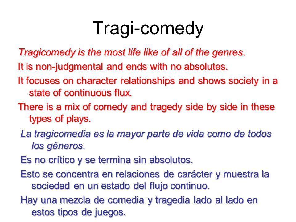 Tragi-comedy
