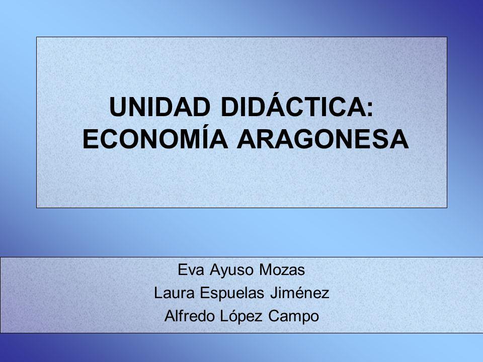 UNIDAD DIDÁCTICA: ECONOMÍA ARAGONESA