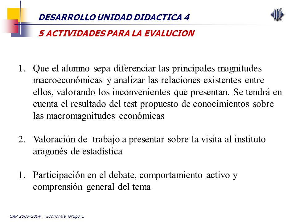DESARROLLO UNIDAD DIDACTICA 4