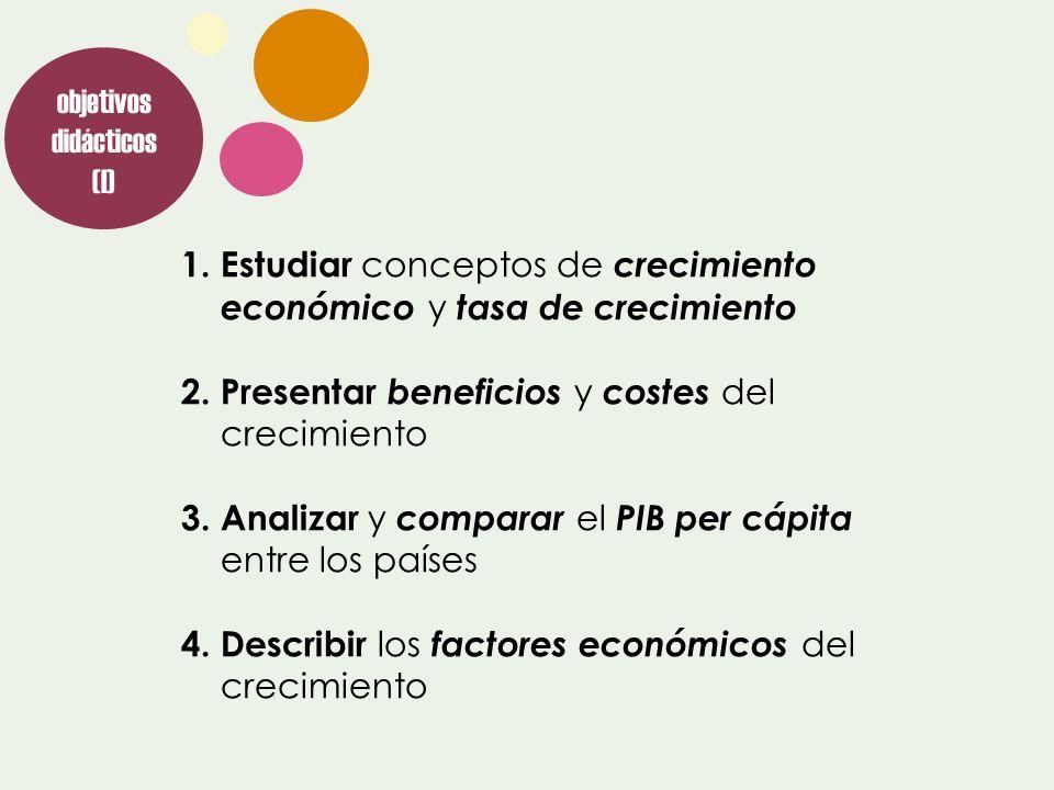 objetivos didácticos (I)