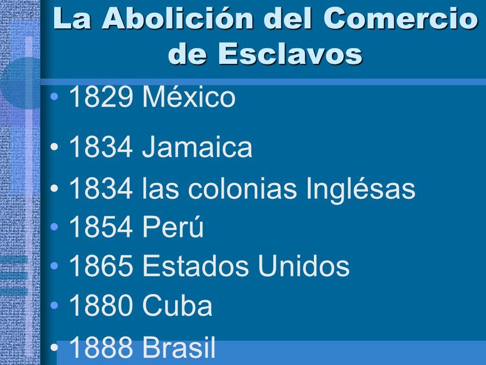 La Abolición del Comercio de Esclavos
