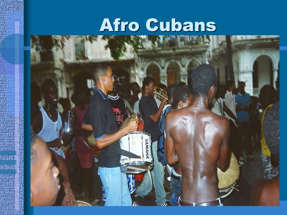 Afro Cubans