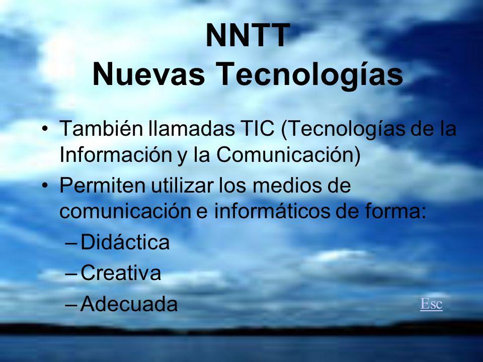NNTT Nuevas Tecnologías