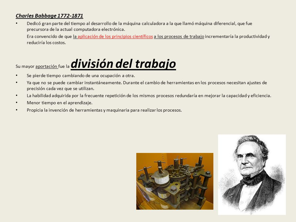 Charles Babbage 1772-1871