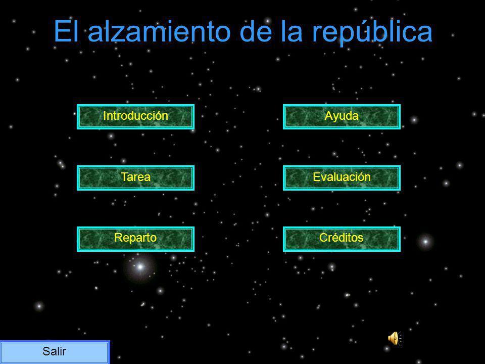 El alzamiento de la república