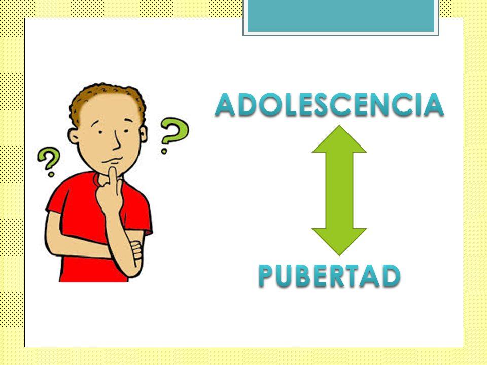 ADOLESCENCIA PUBERTAD