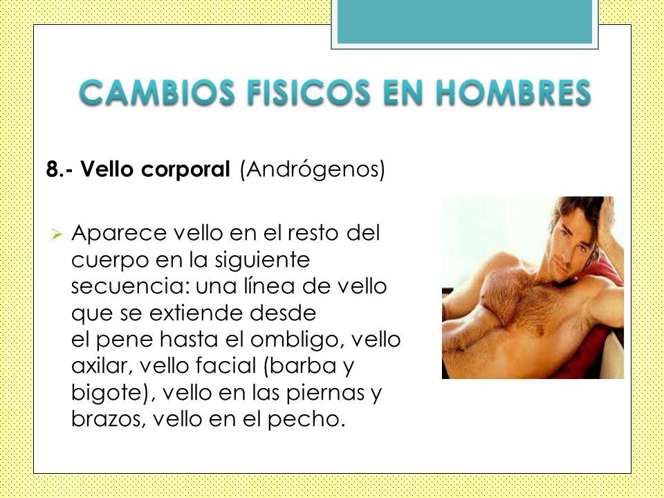 CAMBIOS FISICOS EN HOMBRES