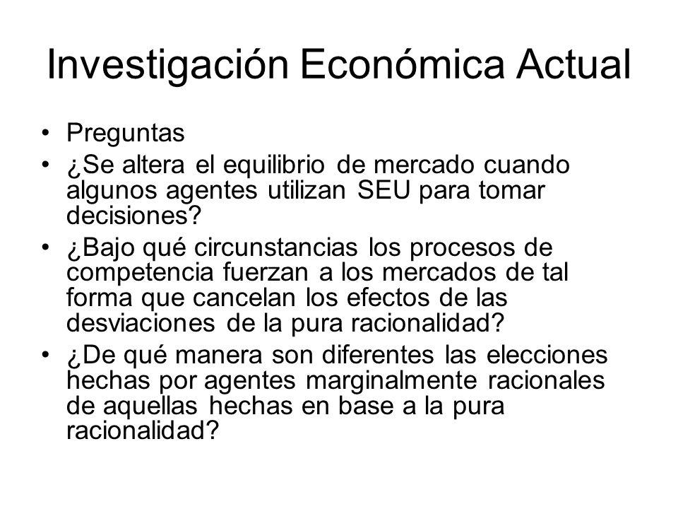 Investigación Económica Actual