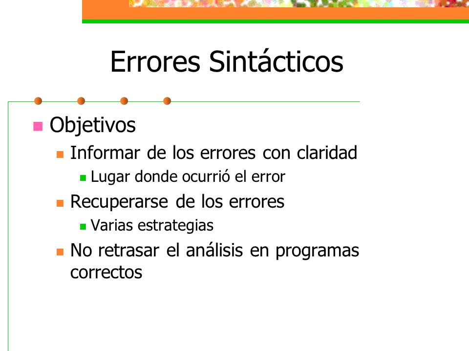 error analisis Summarizes the purposes of error analysis and provides a list of errors that students commonly make in various mathematical areas.