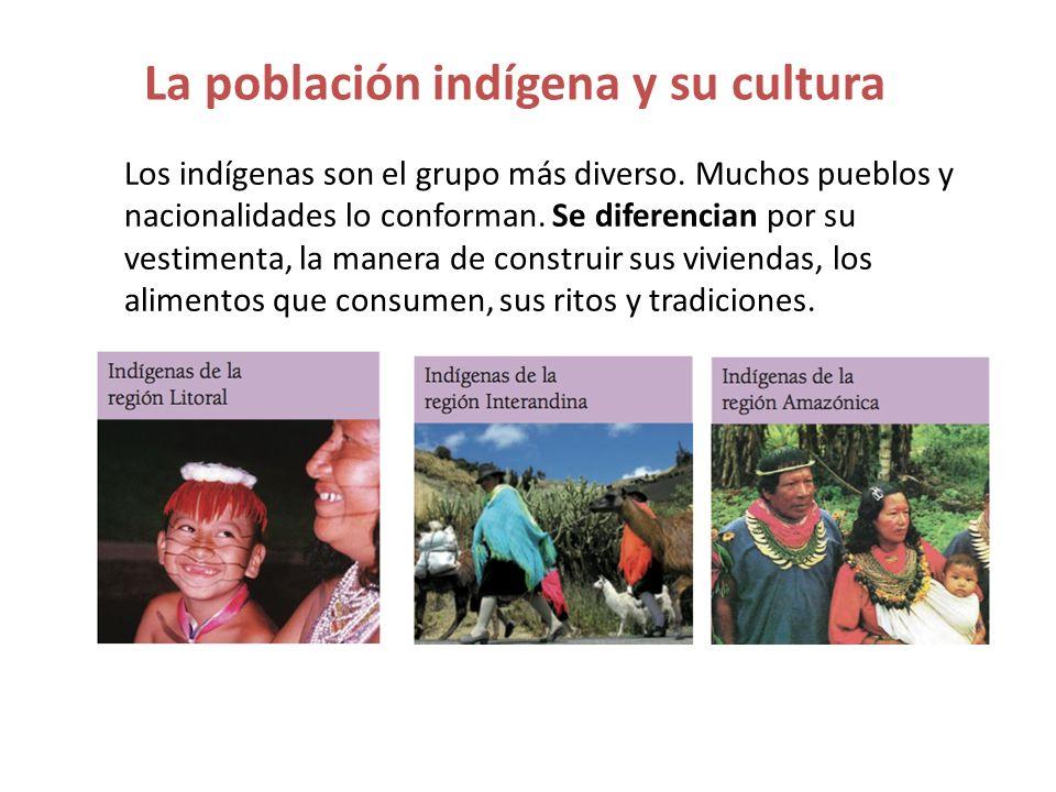 La población indígena y su cultura
