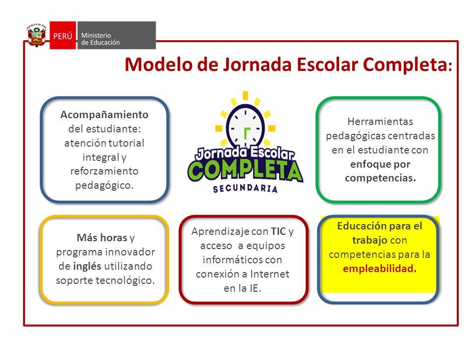 Modelo de Jornada Escolar Completa: