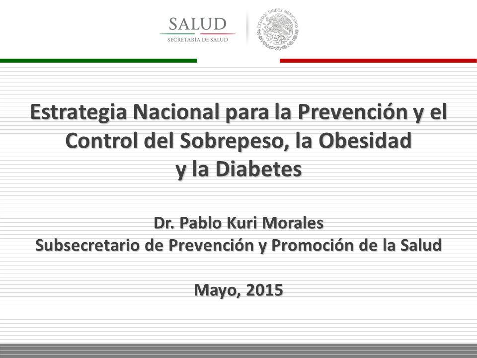 Subsecretario de Prevención y Promoción de la Salud - ppt