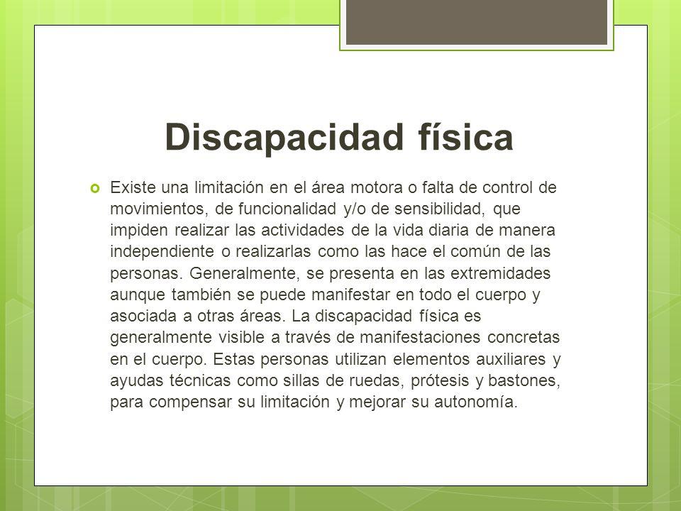 Concepto De Discapacidad Tipolog As Definici N De