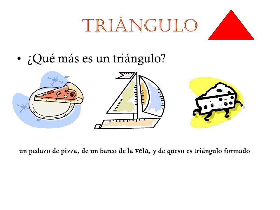 Triángulo ¿Qué más es un triángulo