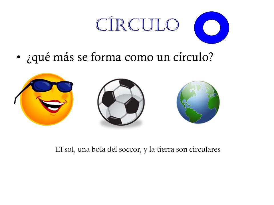 Círculo ¿qué más se forma como un círculo