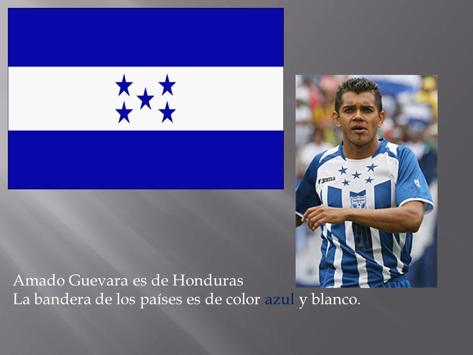 Amado Guevara es de Honduras