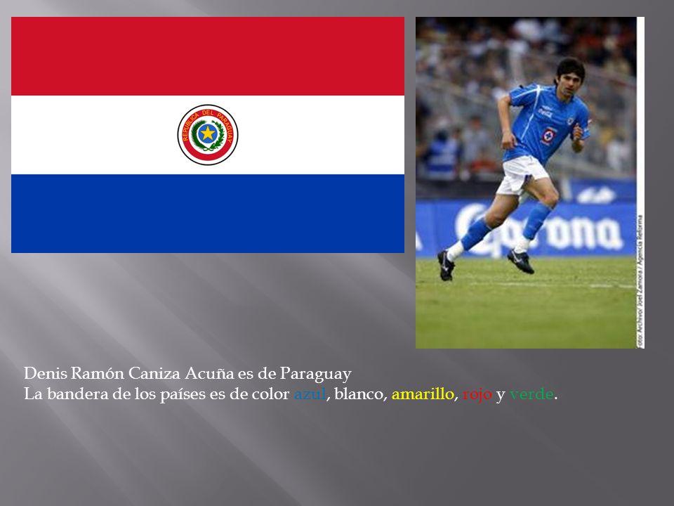 Denis Ramón Caniza Acuña es de Paraguay