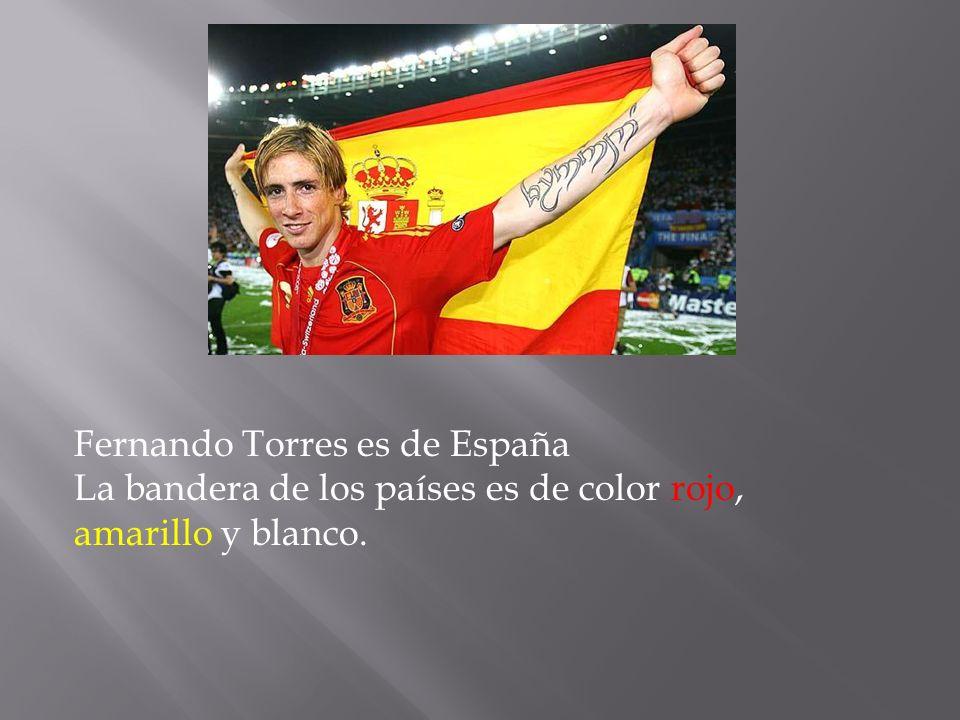Fernando Torres es de España