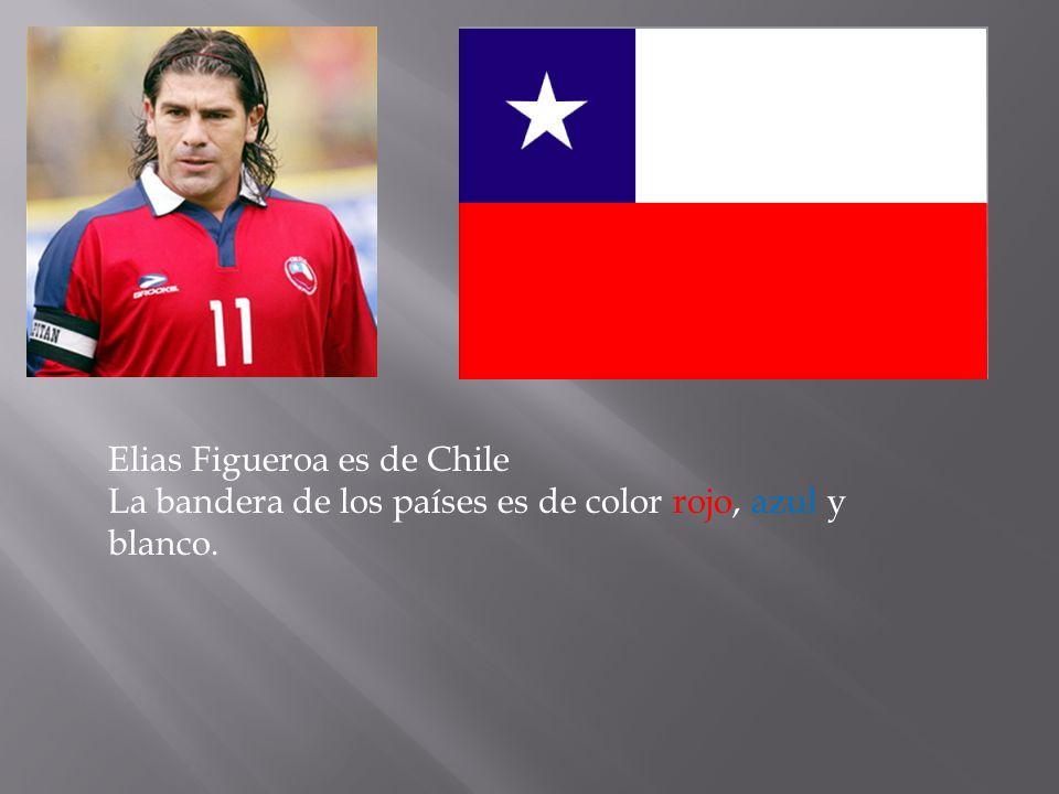Elias Figueroa es de Chile