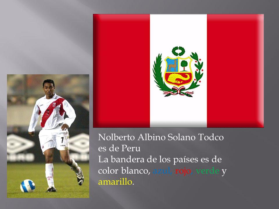 Nolberto Albino Solano Todco es de Peru