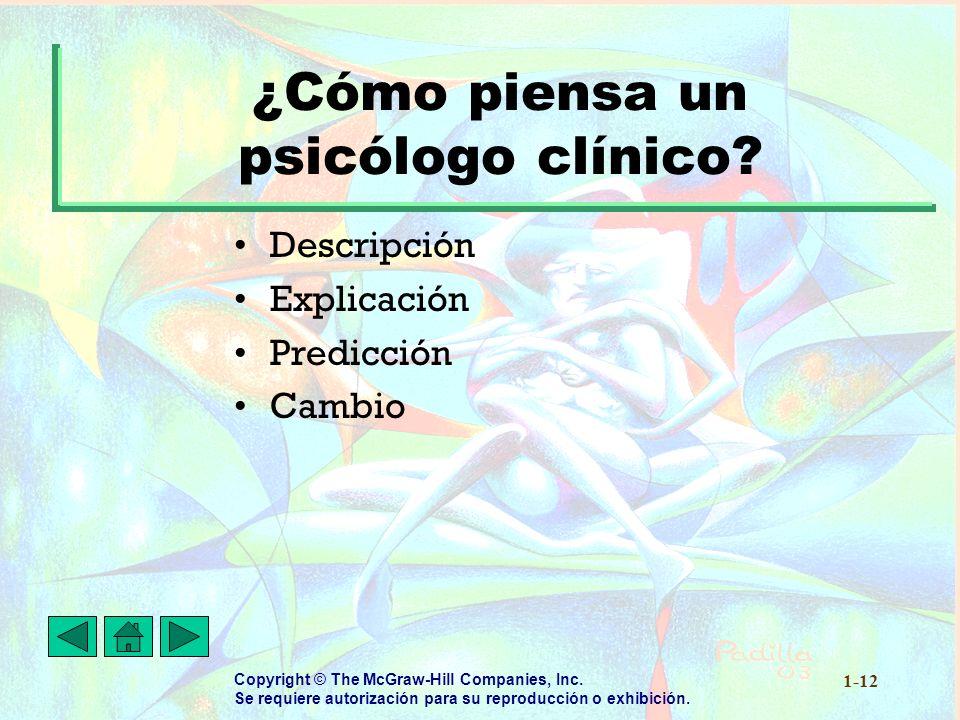 ¿Cómo piensa un psicólogo clínico
