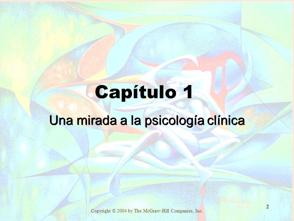 Una mirada a la psicología clínica