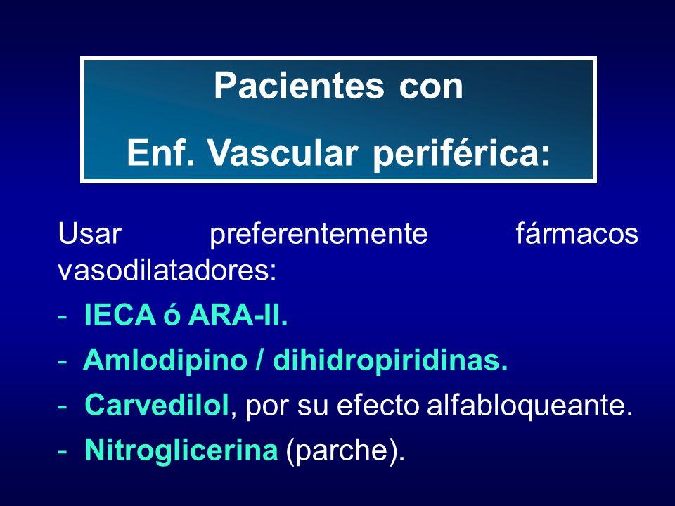Enf. Vascular periférica: