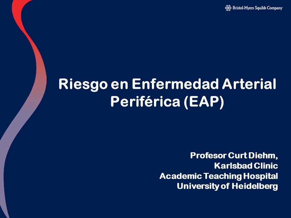 Riesgo en Enfermedad Arterial Periférica (EAP)