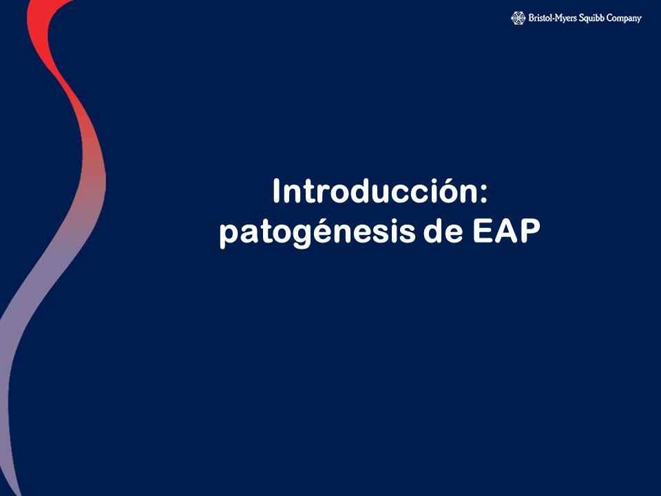 Introducción: patogénesis de EAP