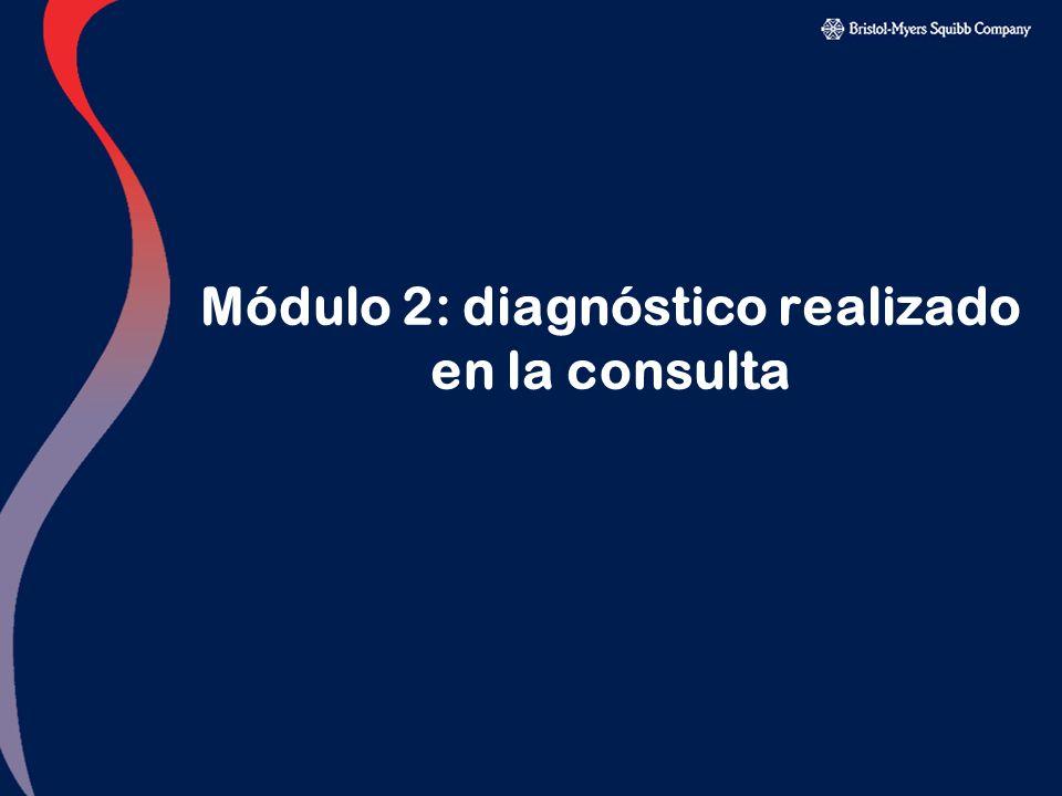 Módulo 2: diagnóstico realizado en la consulta