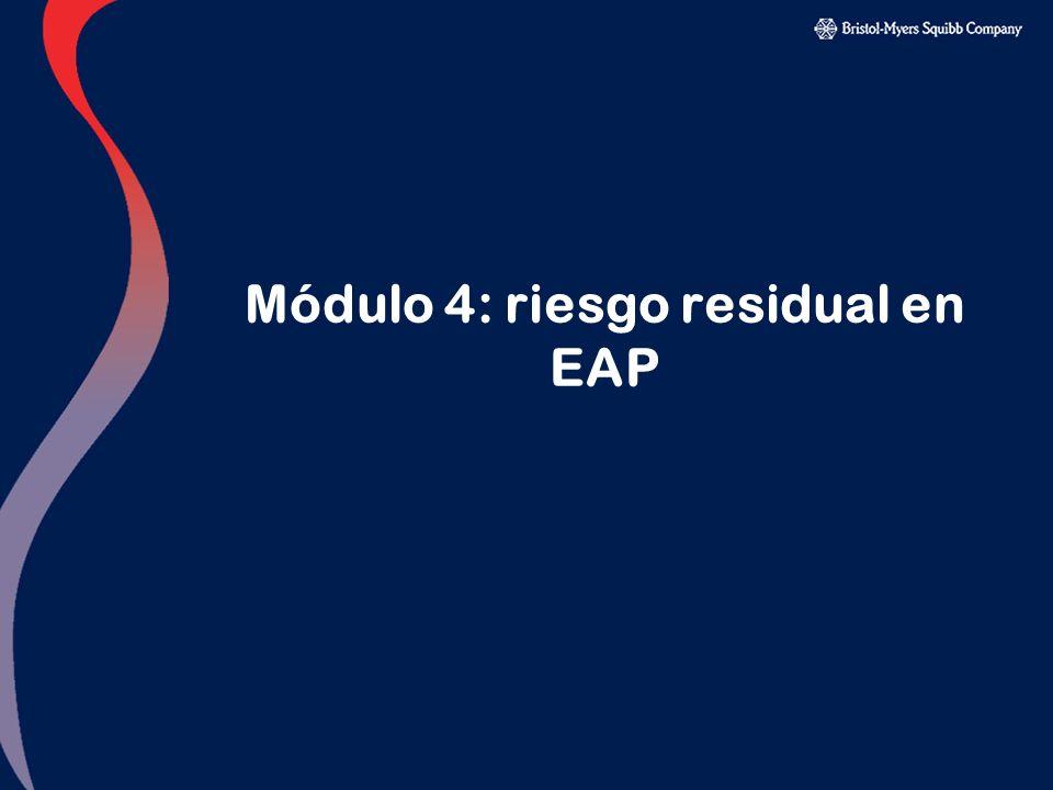 Módulo 4: riesgo residual en EAP