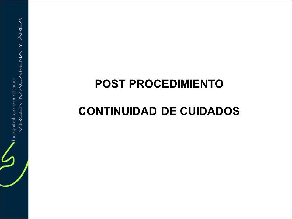 CONTINUIDAD DE CUIDADOS