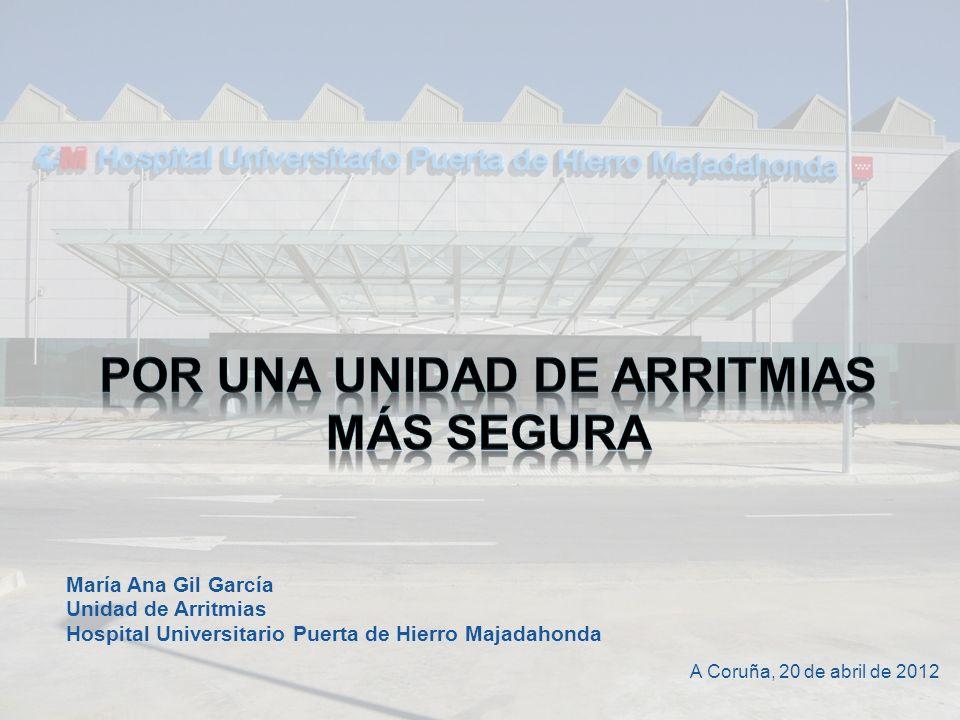 POR UNA UNIDAD DE ARRITMIAS MÁS SEGURA