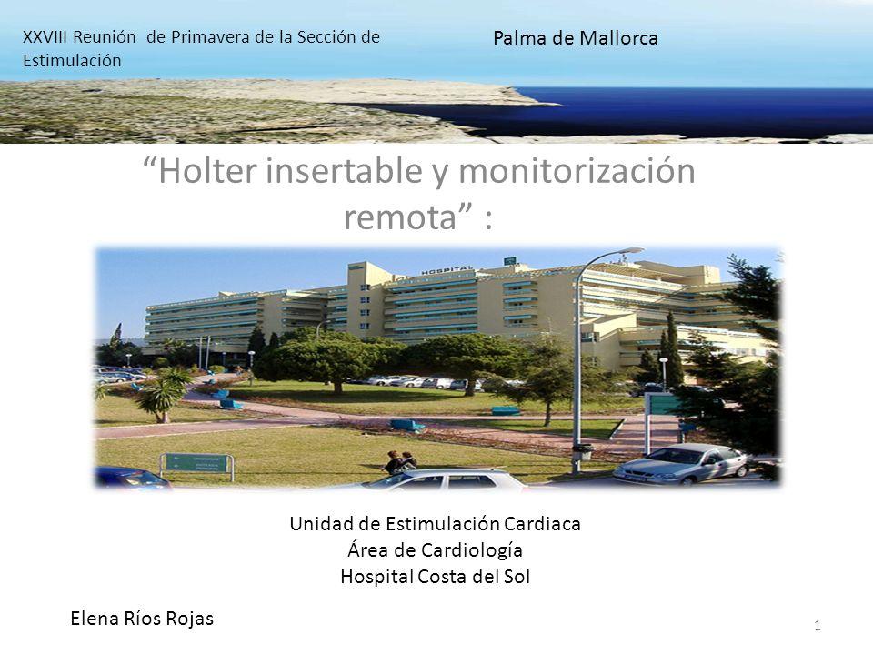 Holter insertable y monitorización remota :