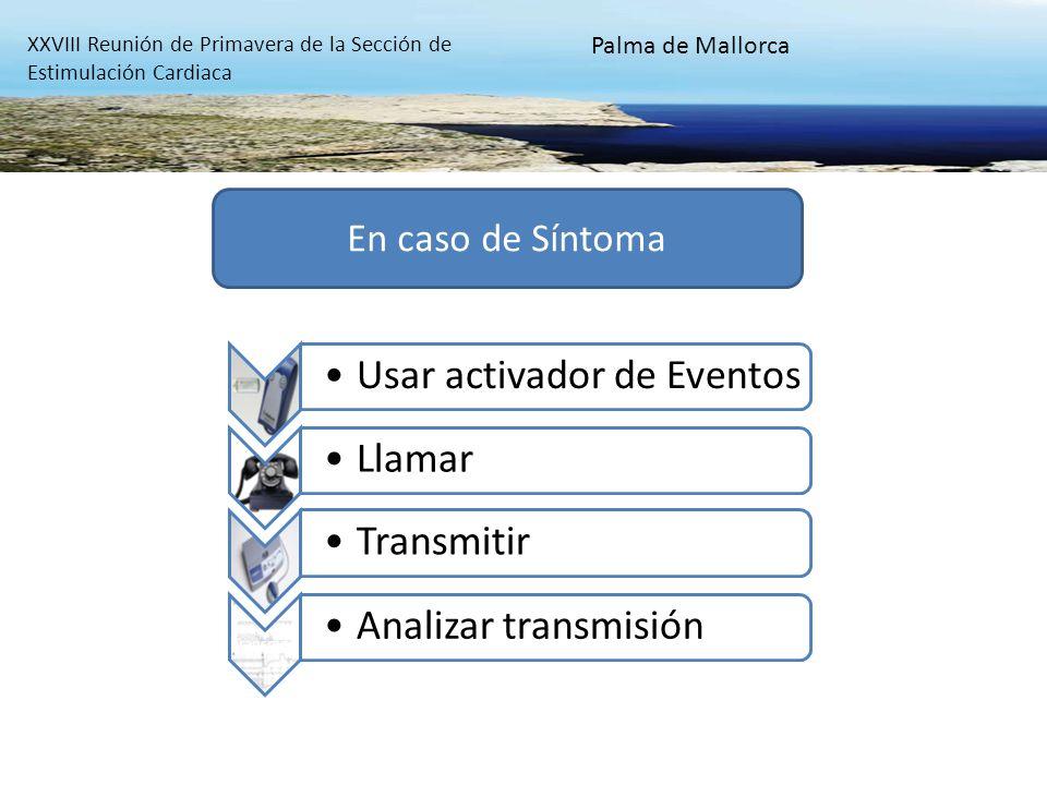 En caso de Síntoma Palma de Mallorca