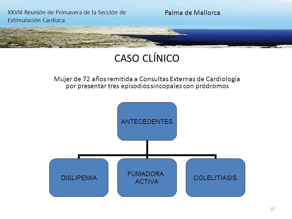 CASO CLÍNICO Palma de Mallorca