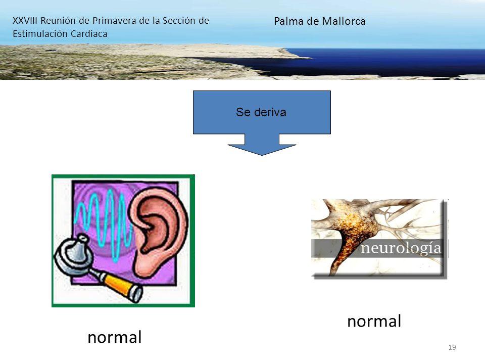 normal normal Palma de Mallorca Se deriva