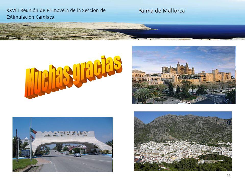 Muchas gracias Palma de Mallorca
