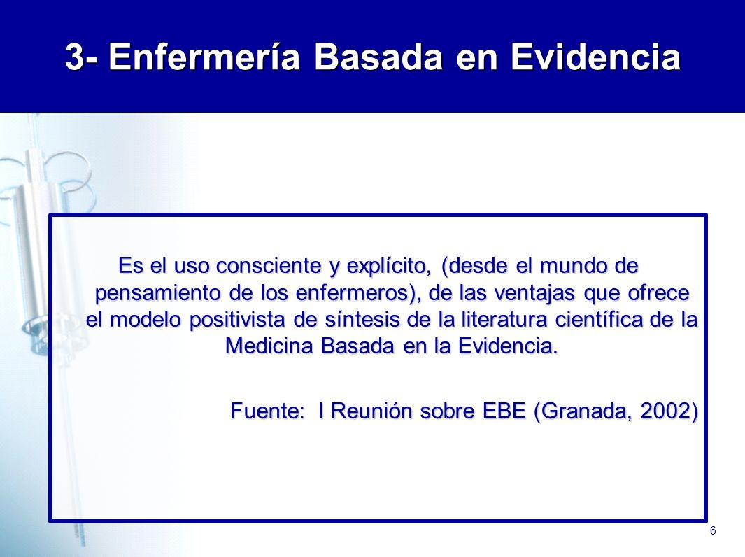 3- Enfermería Basada en Evidencia