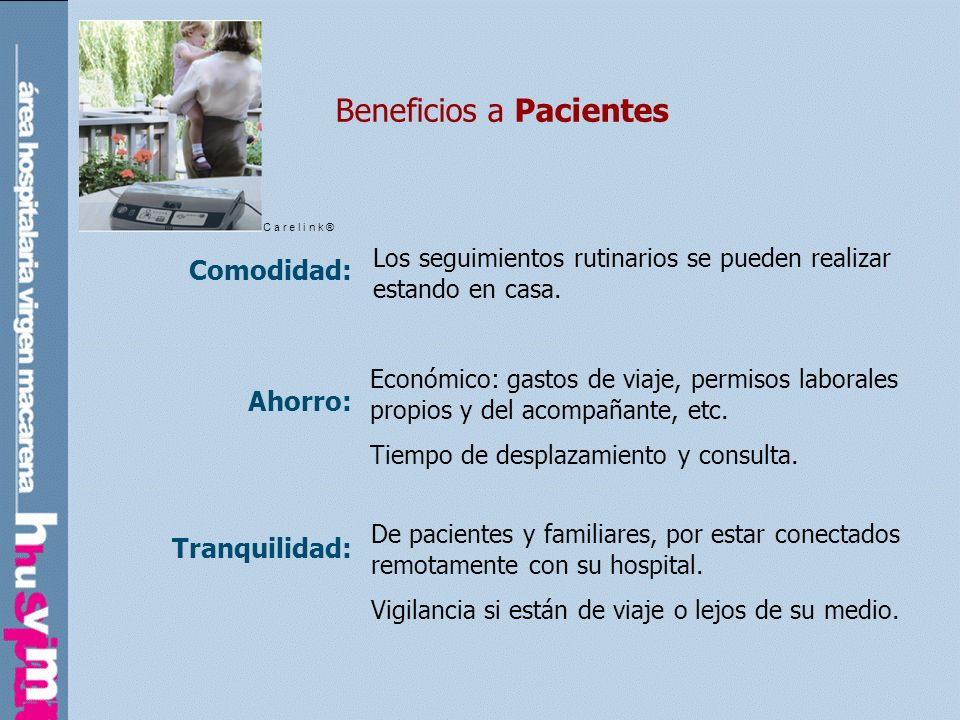 Beneficios a Pacientes