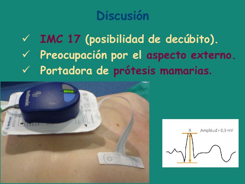 Discusión IMC 17 (posibilidad de decúbito).